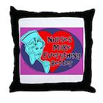 Nurses make Everything better Throw Pillow