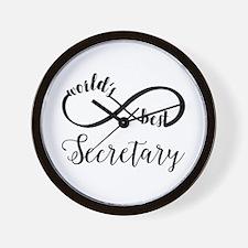 World's Best Secretary Wall Clock