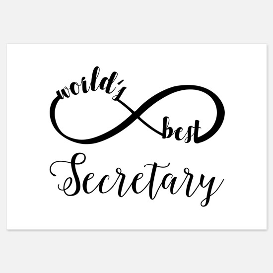 World's Best Secretary 5x7 Flat Cards