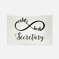 World's Best Secretary Rectangle Magnet (10 pack)