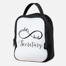 World's Best Secretary Neoprene Lunch Bag