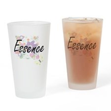 Essence Artistic Name Design with F Drinking Glass