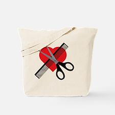 Cute Hair salon Tote Bag