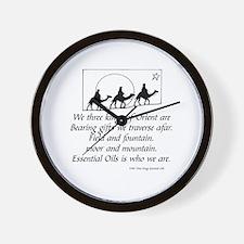 Doterra essential oils Wall Clock