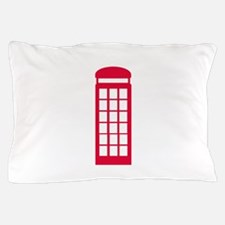 phone booth Pillow Case