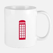 phone booth Mugs