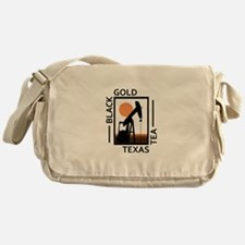 Black Gold Texas Tea Messenger Bag