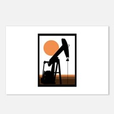 Oil Well Postcards (Package of 8)