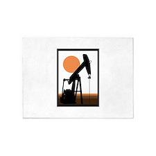 Oil Well 5'x7'Area Rug