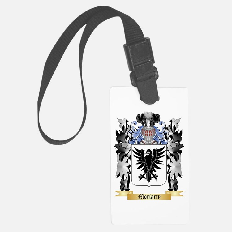 Moriarty Luggage Tag