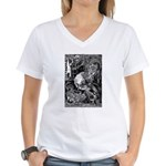 Lord Horror Women's V-Neck T-Shirt