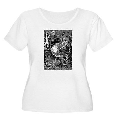 Lord Horror Women's Plus Size Scoop Neck T-Shirt