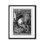 Lord Horror Framed Panel Print