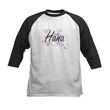 Hana Artistic Name Design with Flo Baseball Jersey