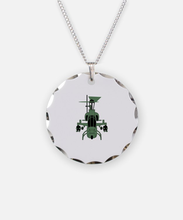 Cobra Helicopter Necklace