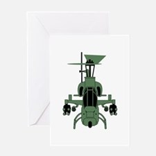 Cobra Helicopter Greeting Cards