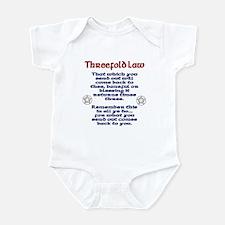 Threefold Law Infant Bodysuit