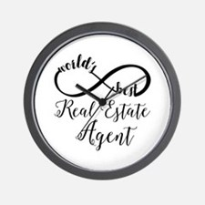 World's Best Real Estate Agent Wall Clock