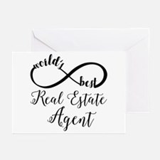 World's Best Real Estate Greeting Cards (Pk of 10)