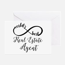 World's Best Real Estate Agent Greeting Card