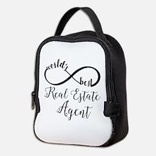 World's Best Real Estate Agent Neoprene Lunch Bag
