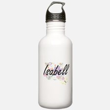 Isabell Artistic Name Water Bottle