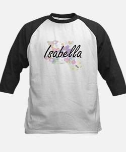 Isabella Artistic Name Design with Baseball Jersey