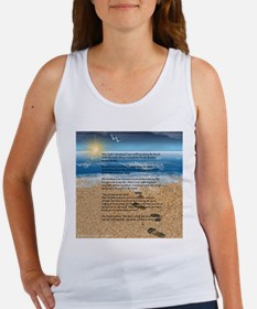 Footprints in the Sand Tank Top
