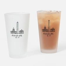 Funny Washington Drinking Glass