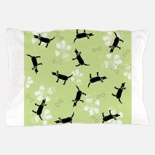 Dogs on Paws Pillow Case