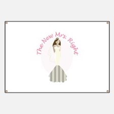 New Mrs Right Banner