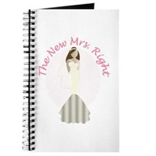New Mrs Right Journal