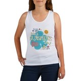 Brady bunch its a sunshine day t Women's Tank Tops