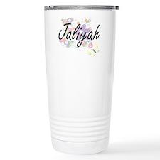 Jaliyah Artistic Name D Travel Coffee Mug