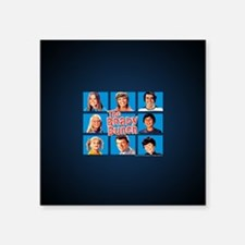 "The Brady Bunch Grid Square Sticker 3"" x 3"""