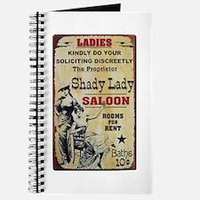 Shady Lady Saloon Journal
