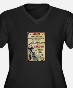 Shady Lady Saloon Plus Size T-Shirt