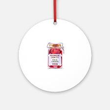 REDNECK JAM CO - GENUINE FLAVOR - K Round Ornament