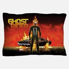 Ghost Rider Car Pillow Case