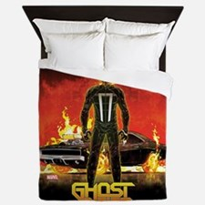 Ghost Rider Car Queen Duvet