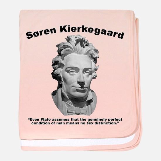 Kierkegaard Gender baby blanket