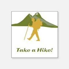 Hiker Mountain Sticker