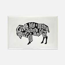 Give Me a Home Buffalo Roam Magnets