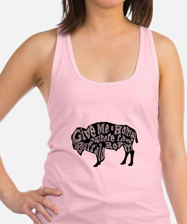 Give Me a Home Buffalo Roam Racerback Tank Top