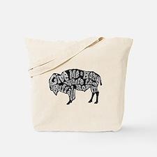 Give Me a Home Buffalo Roam Tote Bag