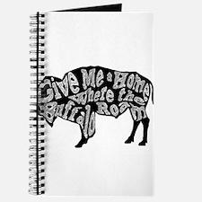 Give Me a Home Buffalo Roam Journal