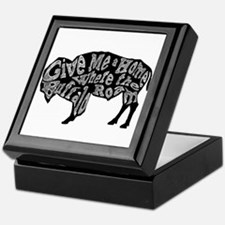 Give Me a Home Buffalo Roam Keepsake Box