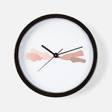 Tug Of War Wall Clock