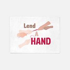 Lend A Hand 5'x7'Area Rug