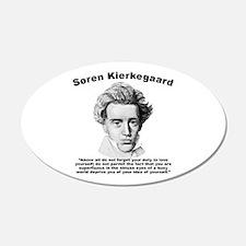 Kierkegaard SelfLove Wall Decal